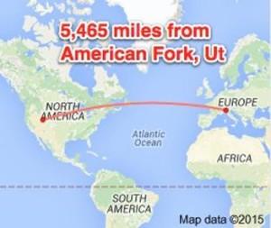 Milan-to-american-Fork-