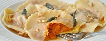 Pumpkin Raviol