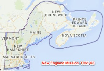 new england mission 1963