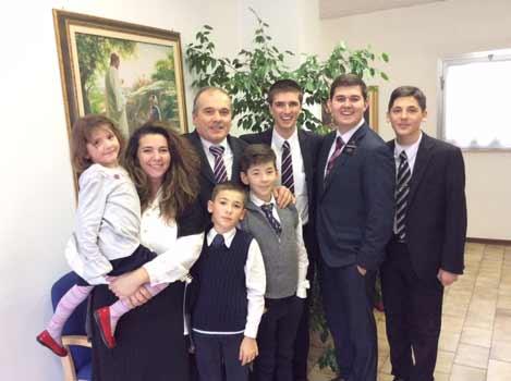 Zambonini Family in Mantova Italy