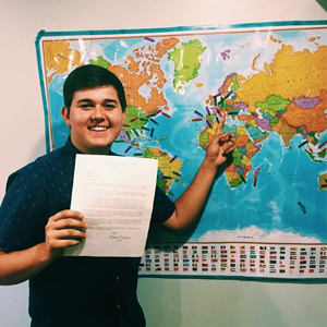 Braden Griffiths Mission call to Milan Italy