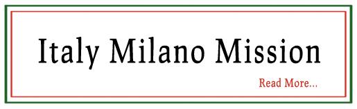 Milano Italy Mission