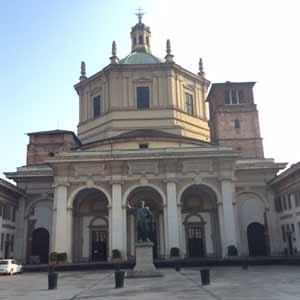 Milan Basilica di San Lorenzo 402 ad
